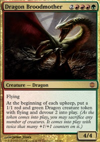 MTG Card: Dragon Broodmother