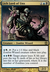 MTG Card: Lich Lord of Unx