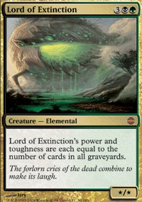 MTG Card: Lord of Extinction
