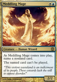 MTG Card: Meddling Mage