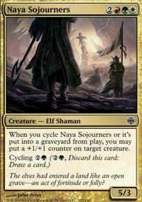 MTG Card: Naya Sojourners