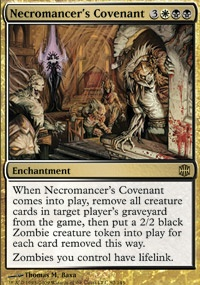 MTG Card: Necromancer's Covenant