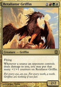 MTG Card: Retaliator Griffin