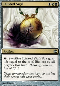 MTG Card: Tainted Sigil