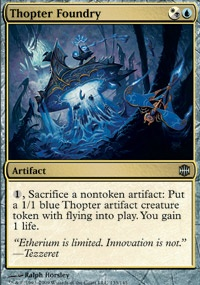 MTG Card: Thopter Foundry