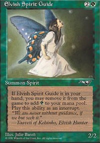 MTG Card: Elvish Spirit Guide