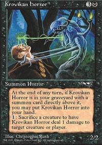 MTG Card: Krovikan Horror