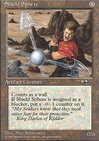 MTG Card: Shield Sphere