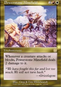 MTG Card: Powerstone Minefield