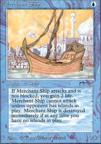 MTG Card: Merchant Ship