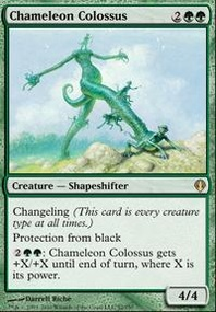 MTG Card: Chameleon Colossus