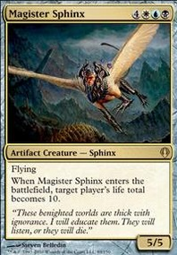 MTG Card: Magister Sphinx