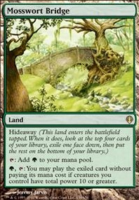 MTG Card: Mosswort Bridge