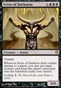 MTG Card: Scion of Darkness