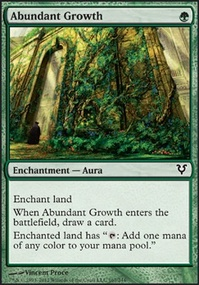 MTG Card: Abundant Growth