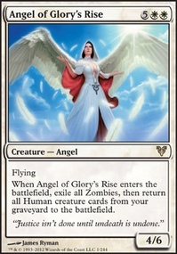 MTG Card: Angel of Glory's Rise