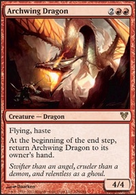 MTG Card: Archwing Dragon