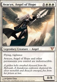 MTG Card: Avacyn, Angel of Hope