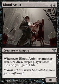 MTG Card: Blood Artist