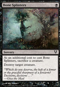 MTG Card: Bone Splinters