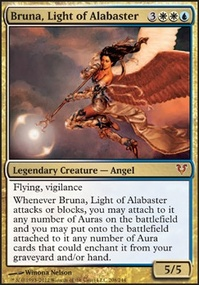 MTG Card: Bruna, Light of Alabaster