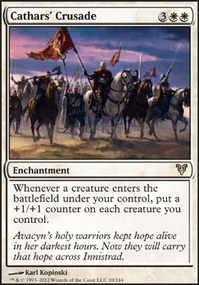 MTG Card: Cathars&#39; Crusade