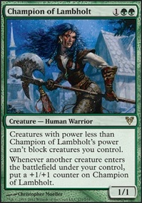 MTG Card: Champion of Lambholt 