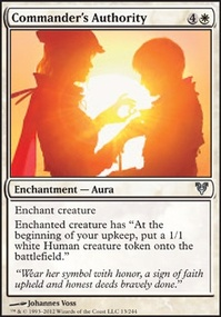 MTG Card: Commander's Authority