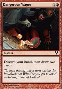 MTG Card: Dangerous Wager