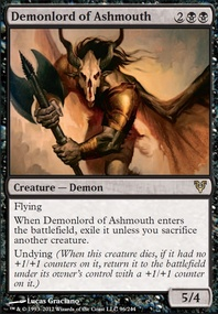 MTG Card: Demonlord of Ashmouth