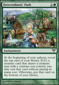 MTG Card: Descendants' Path