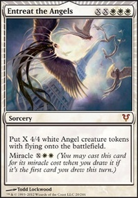 MTG Card: Entreat the Angels