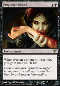 MTG Card: Exquisite Blood