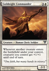 MTG Card: Goldnight Commander