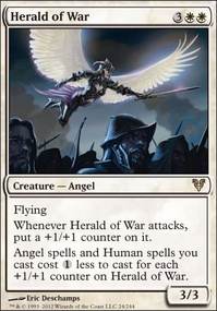 MTG Card: Herald of War