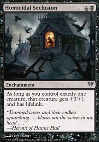 MTG Card: Homicidal Seclusion