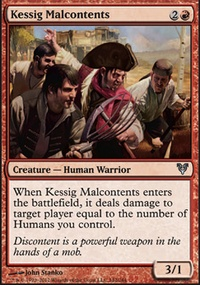 MTG Card: Kessig Malcontents