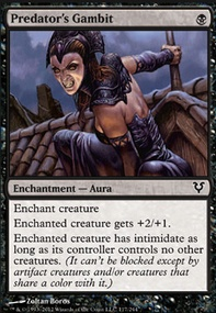 MTG Card: Predator's Gambit