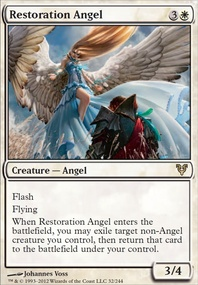 MTG Card: Restoration Angel