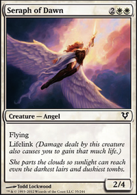 MTG Card: Seraph of Dawn