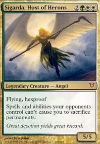 MTG Card: Sigarda, Host of Herons