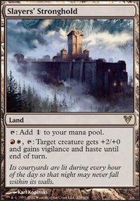 MTG Card: Slayers&#39; Stronghold