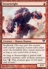 MTG Card: Stonewright