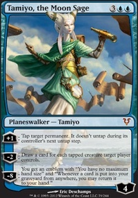 MTG Card: Tamiyo, the Moon Sage