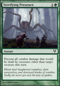 MTG Card: Terrifying Presence