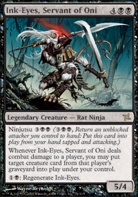 MTG Card: Ink-Eyes, Servant of Oni