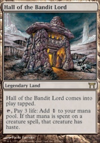 MTG Card: Hall of the Bandit Lord
