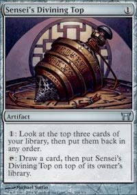 MTG Card: Sensei's Divining Top