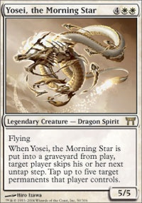 MTG Card: Yosei, the Morning Star
