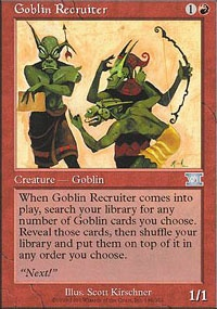 MTG Card: Goblin Recruiter